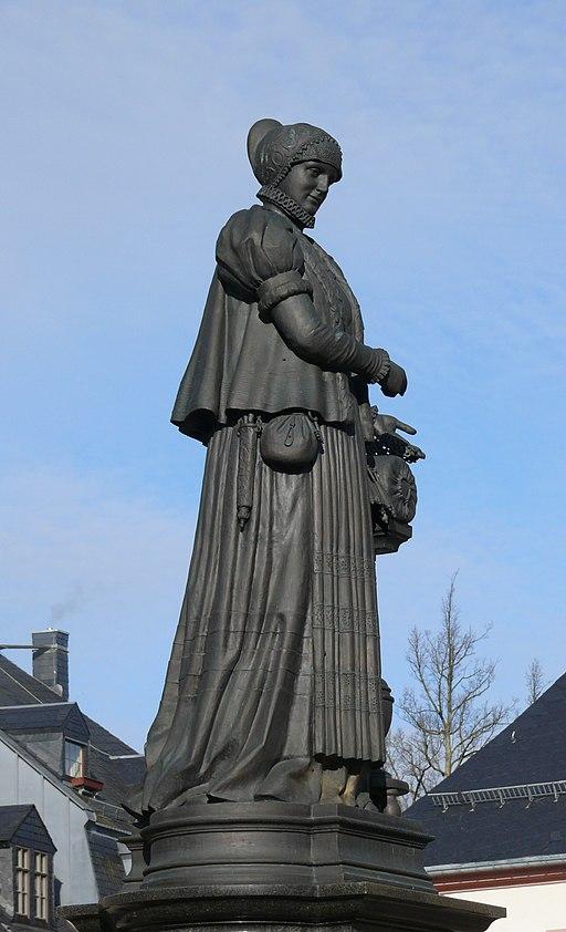 Annaberg Buchholz Barbara Uthman Denkmal 04