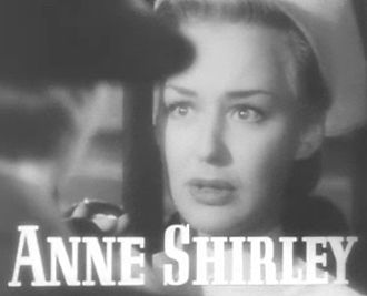 Anne Shirley (actress) - from the trailer for the film  Vigil in the Night (1940)
