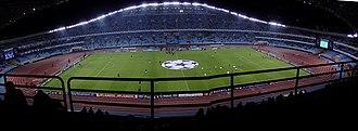 Anoeta Stadium - Image: Anoetako futbol zelaia