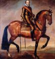 Anselm van Hulle (Attr.) - Equestrian portrait of Maurice of Nassau.PNG