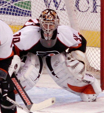 Antero Niittymaki played five seasons for the Flyers. 10fac0ae3