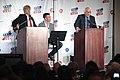 Anthony Atamanuik, Jon Favreau & James Adomian (27362797444).jpg