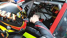 Description de l'image Anthony Kumpen Maxime Dumarey NASCAR 2015.jpg.