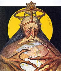 Αντισημιτική καρικατούρα από τη Γαλλία (1898)