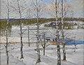 Anton Genberg - Norrländskt vinterlandskap med björkar.jpg