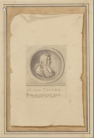 Antonina Houbraken - Image: Antonina Houbraken Portrait of Mr. Joan Corver (1628 1716), Alderman and Mayor of Amsterdam
