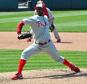 Antonio Bastardo - Bastardo pitching for the Philadelphia Phillies in 2011