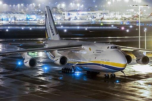 Antonov Airlines Antonov An-124-100M Ruslan at Perth Airport