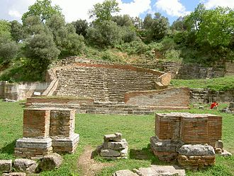 Apollonia (Illyria) - Odeon Theater of Apollonia.