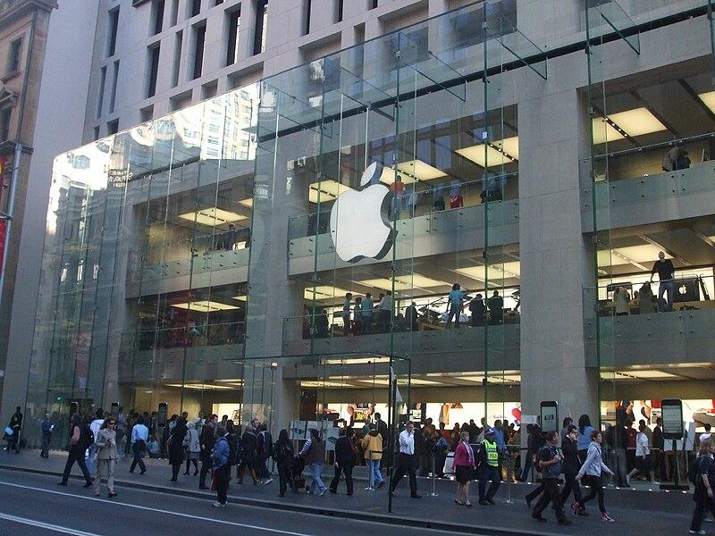 Apple Store in George Street, Sydney.jpg