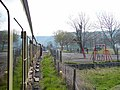 Approaching Llanbadarn level crossing - geograph.org.uk - 768515.jpg