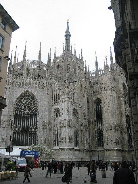 Apse of the Duomo (Milan)