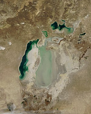 South Aral Sea - Image: Aral Nasa