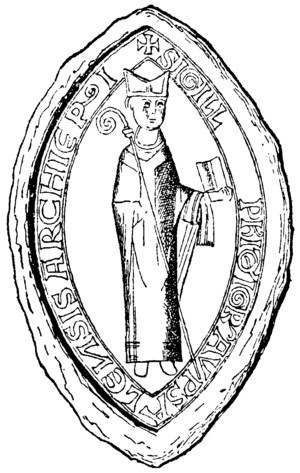 Stefan (Archbishop of Uppsala) - Insignia of Stefan