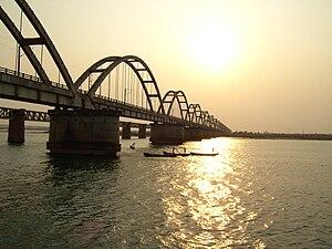 Godavari Arch Bridge. Image taken using my Ace...