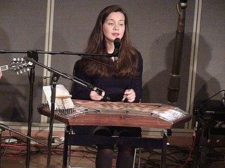 Areti Ketime Greek singer, musician, hammered dulcimer player