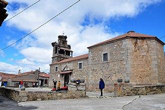 Arevalillo - Image: Arevalillo iglesia parroquial