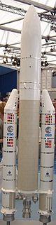 Modell einer Ariane 5
