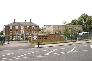 Ark Greenwich Free School Free school in Woolwich, London, England