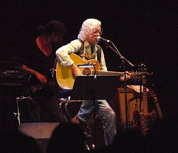 English: Arlo Guthrie at Bardentreffen 2010 in...