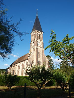 Armeau - Image: Armeau FR 89 église 08