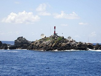 Saint Peter and Saint Paul Archipelago - Brazilian Navy scientific station and lighthouse of the Saint Peter and Saint Paul Archipelago
