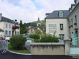 The centre of the village