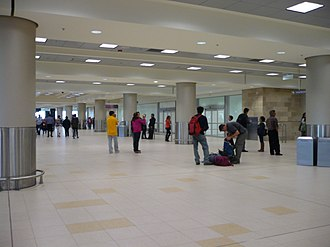 Mariscal Sucre International Airport - Arrivals area