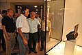 Arun Goel With NCSM Dignitaries Visit Objects In CRTL Archive Exhibition - NCSM - Kolkata 2018-09-23 4446.JPG