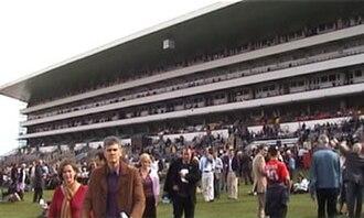 Ascot Racecourse - Ascot's pre-2006 grandstand