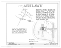 Ashlawn, Simeon, Albemarle County, VA HABS VA,2-SIM,1- (sheet 1 of 9).png
