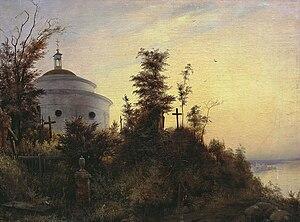 Askold's Grave - Image: Askold's Grave by Vasily Sternberg, 1837