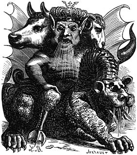 Asmodeus King of demons from the deuterocanonical Book of Tobit