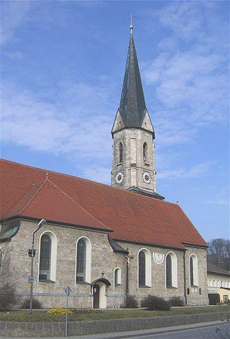 Aßling - Image: Assling Pfarrkirche 1