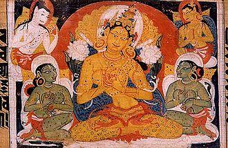 Prajnaparamita - Image: Astasahasrika Prajnaparamita Image of Prajnaparamita