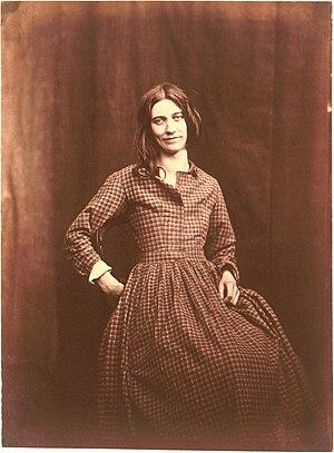 Hugh Welch Diamond - Photo of asylum patient, circa 1850-58