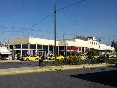 Πώς να πάτε στο προορισμό Σιδηροδρομικός Σταθμός Αθήνας με δημόσια συγκοινωνία - Σχετικά με το μέρος