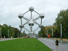 The Atomium since 15 July 2016