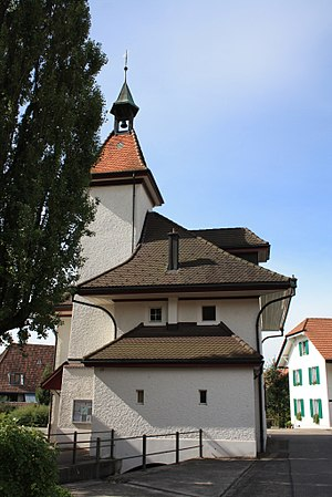 Attiswil - Former school house, now municipal administration building