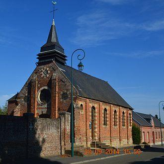 Aubigny-aux-Kaisnes - Aubigny-aux-Kaisnes Church