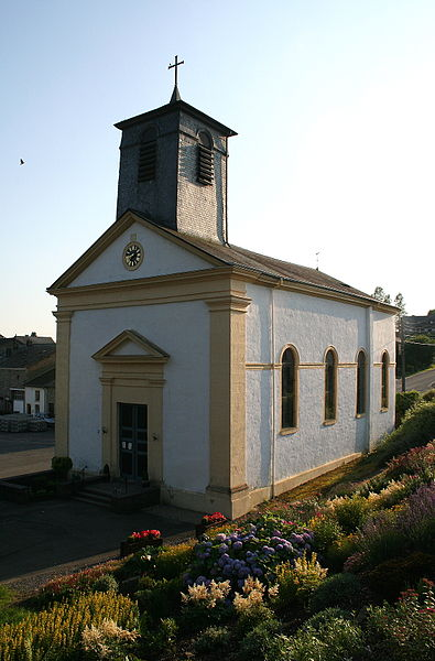 Auby-sur-Semois   (Belgium), the St. John the Baptist church (1860-1862).