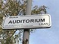 Auditoriumlaan straatnaambord.jpg