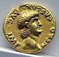 Aureo di nerone, 62-63 dc., roma.jpg