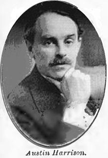 Austin Harrison British newspaper editor