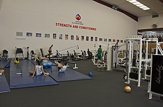 Strength and conditioning coach - A strength and conditioning gym