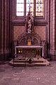 Autel saint Michel, Basilique Notre Dame de Bonne Nouvelle, Rennes, France.jpg