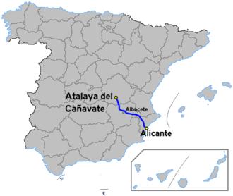 Autovía A-31 - Image: Autoviaesp a 31