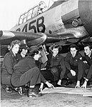 Avenger Field - WASP trainees with T-6 Texan.jpg