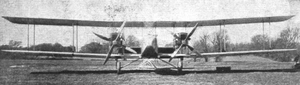 Avro 529 - The Avro 529 with the mid-wing nacelles of its Rolls-Royce Falcon engines