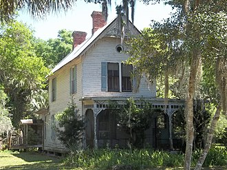 National Register of Historic Places listings in Alachua County, Florida - Image: Axline House 01